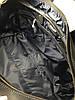 Дорожная сумка кожаная SV-63 Dizar Сумка спортивная кожа крейзи черная, фото 4