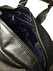 Дорожная сумка кожаная SV-63 Dizar Сумка спортивная кожа флотар черная, фото 4