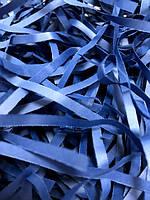 ОПТ 500 грамм Бумажная стружка 4мм Синяя