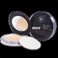 "Компактна пудра TF Cosmetics ""Best For Me"" Perfection Matte Powder №01 Світло-бежевий"