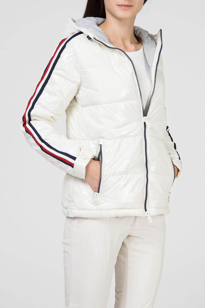 Куртка женская белая CMP Woman Jacket fix hood 39K3406-A143