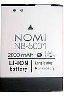 Аккумулятор Nomi NB-5001 для i5001 EVO M3 (2000 мА*ч) оригинал