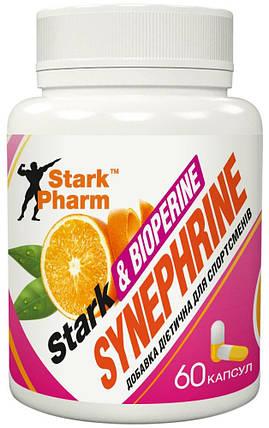 Жироспалювач Stark Synephrine & BioPerine 30 мг 60 капс (синефрин, екстракт гіркого апельсина), фото 2