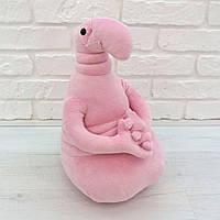 Мягкая игрушка Ждун Почекун 40 см розовый