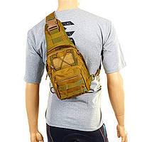Рюкзак тактический патрульный однолямочный V-20 л хаки TY-098