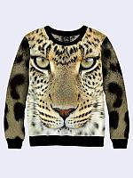Свитшот Морда леопарда