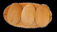 Комплект деревянной посуды