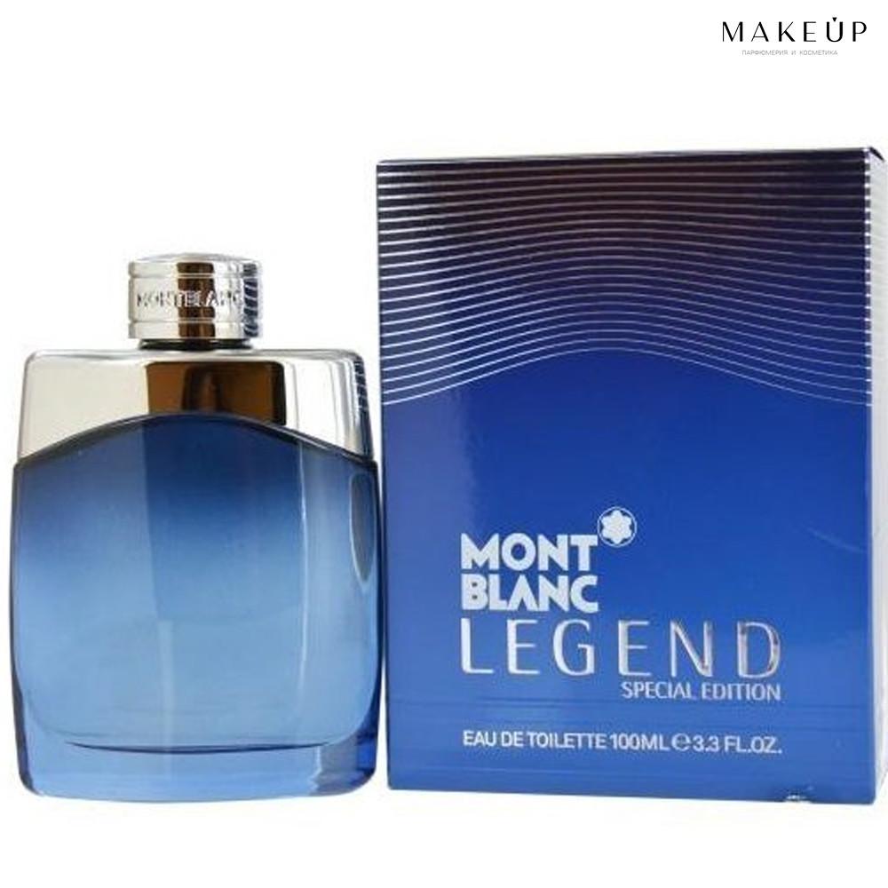 Мужская туалетная вода Mont Blanc Legend special edition EDT 100 мл. | Лицензия Объединённые  Арабские Эмираты