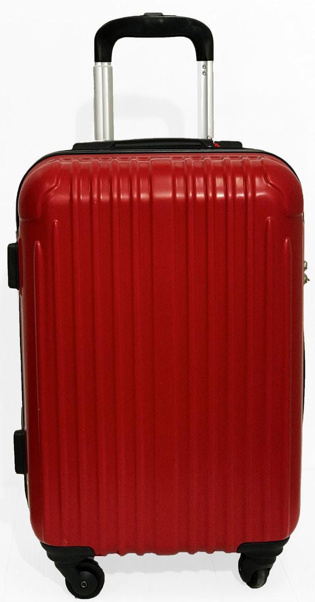 Красный чемодан Lucky Panda