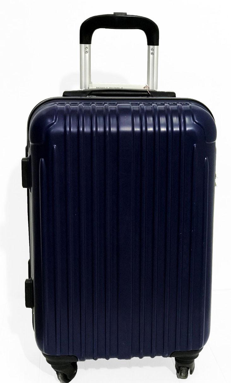 Темно-синий чемодан Lucky Panda