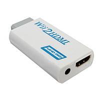 Wii - HDMI адаптер, конвертер видео + аудио, адаптер c Nintendo Wii в HDMI (03679)