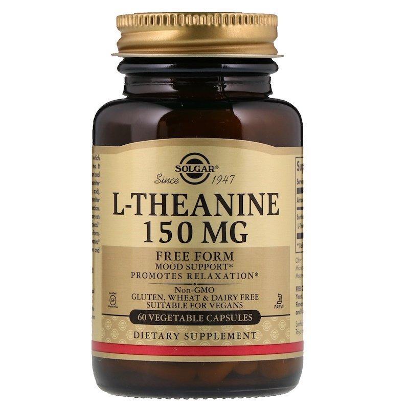 "L-Теанин SOLGAR ""L-Theanine"" 150 мг (60 капсул)"