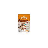 Клуб 4 Лапы рагу с печенкой для кошек, 100г (упаковка 24 шт)