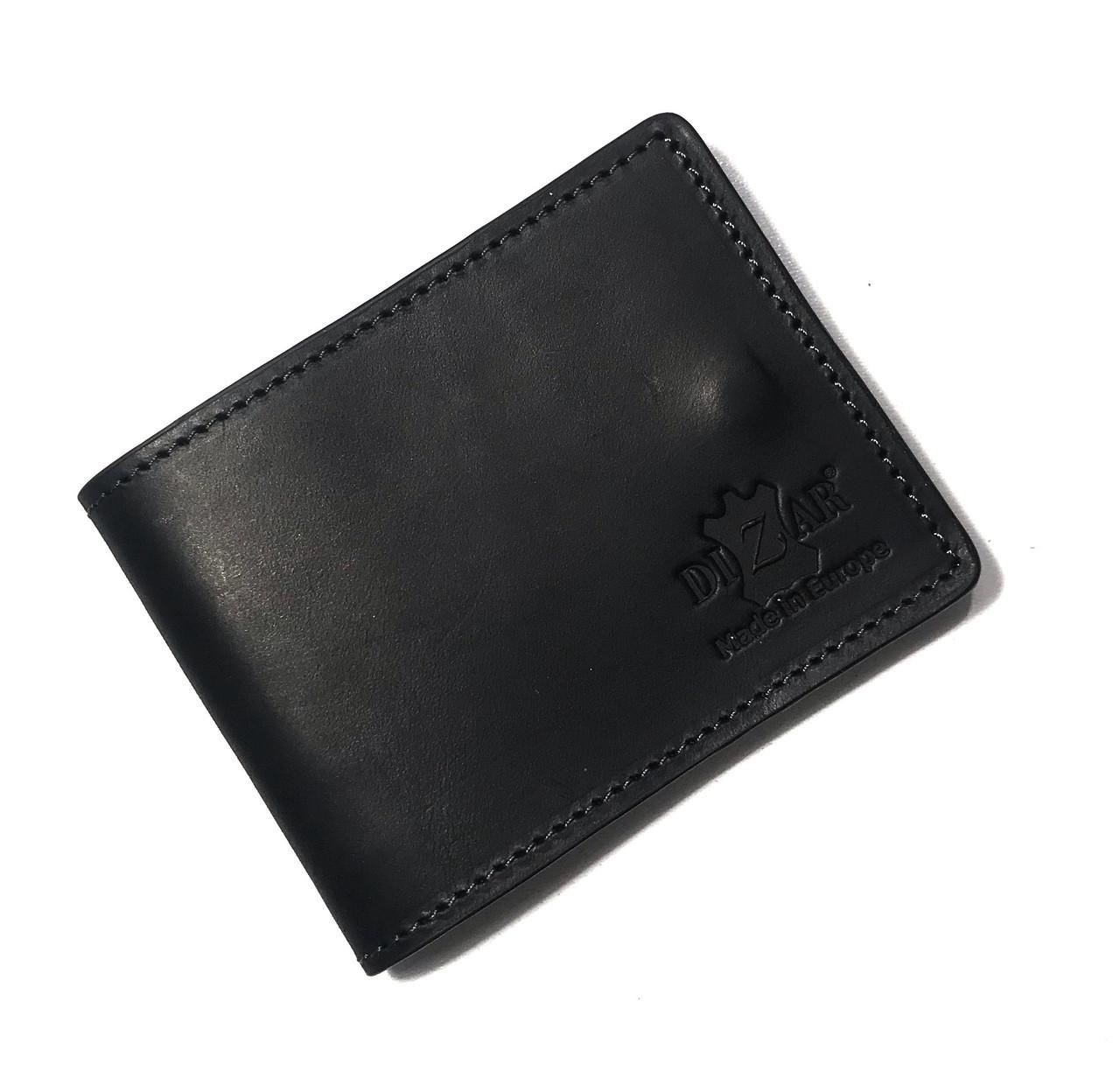 Card Case Dizar кожа крейзи, черный