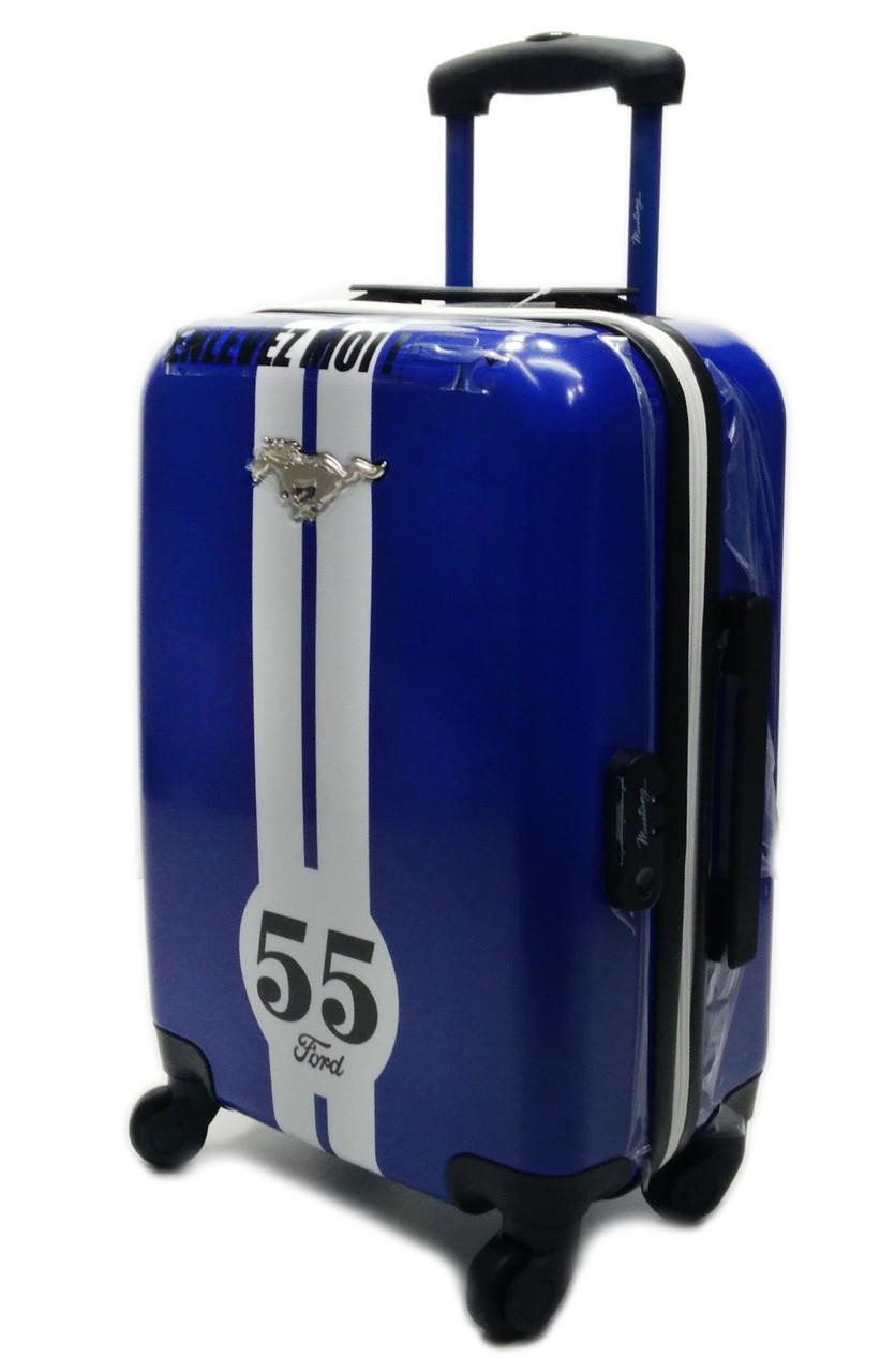 S-1388 Musnang Чемодан синий пластиковый