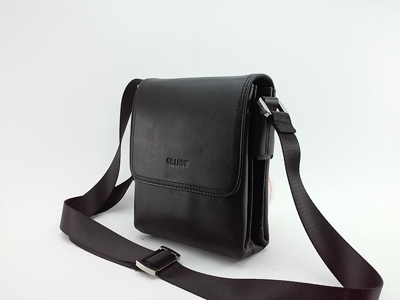 Сумка Grande S-4269 кожа черная