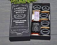 Мужской подарочный набор с виски Самому Лучшему Боссу, фото 1