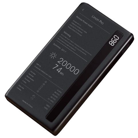 Внешний аккумулятор (Power Bank) Remax Linon Pro RPP-73 20000mAh (Black)