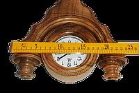 Часы с подсвечником