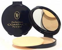 Компактна пудра TF Cosmetics PERFECTION COMPACT POWDER №02 Золотистий