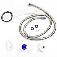 Водонагреватель GZU D8 с душем для быстрого нагрева воды проточный мощность нагрева 3000 Вт IPX4, фото 6