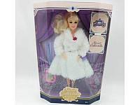 Кукла в шубе 30 см. руки на шарнирах, 3 вида