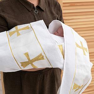 Крижмо для христин з вишивкою