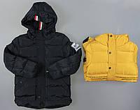 Куртка на меху для мальчиков S&D , 4-12 лет. Артикул: KF130 {есть:10 лет,12 лет,4 года,8 лет}