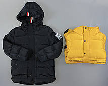 Куртка на меху для мальчиков S&D , 4-12 лет. Артикул: KF130 {есть:12 лет,4 года,8 лет}