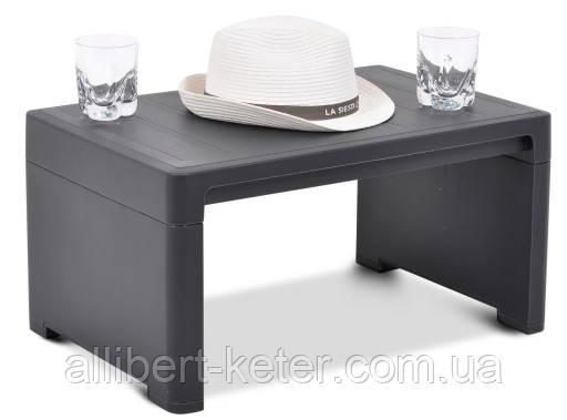 Стол для шезлонга Keter Lago Lounge Side Table