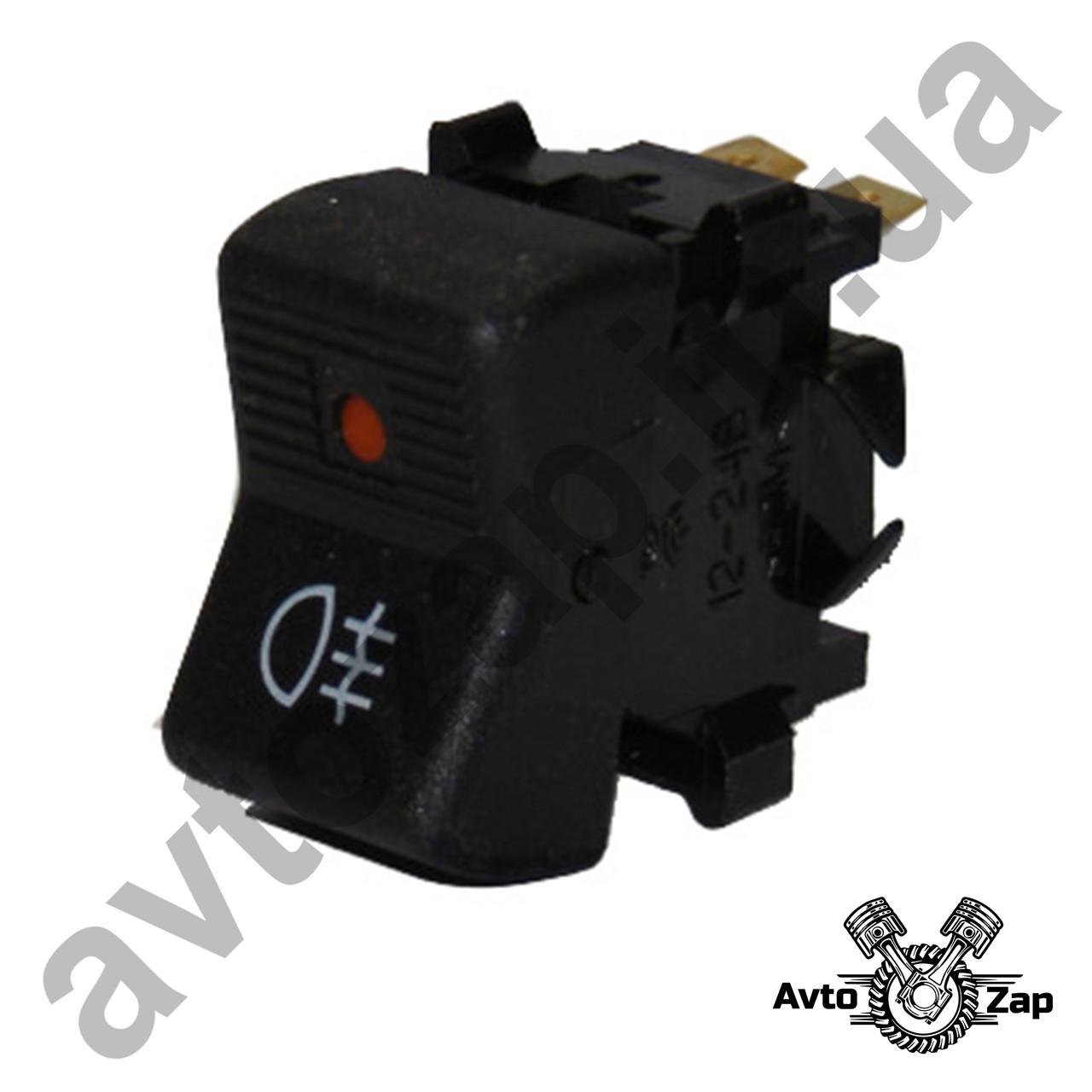 Кнопка противотуманных фар ВАЗ 2105  4 конт. с диодом   11381