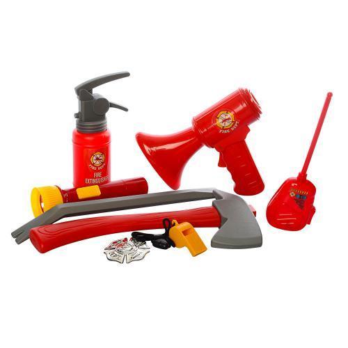 Детский комплект Пожарника F002A мегафон огнетушитель аксессуары