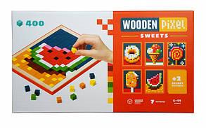 Мозаїка «Wooden pixel 6» SWEETS 14927