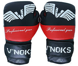 Боксерские перчатки V`Noks Potente Red 10 ун., фото 3