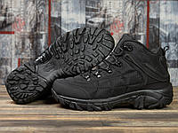 Мужские ботинки зимние Merrell Waterproof (мех) (черные)