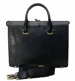 Портфель мужской Tony Bellucci S-5030-894 30*38*10см. кожа буфало, серый