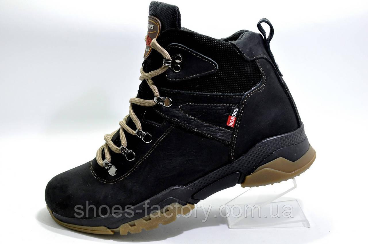 Зимние кожаные ботинки Konors Winter 2020, на меху