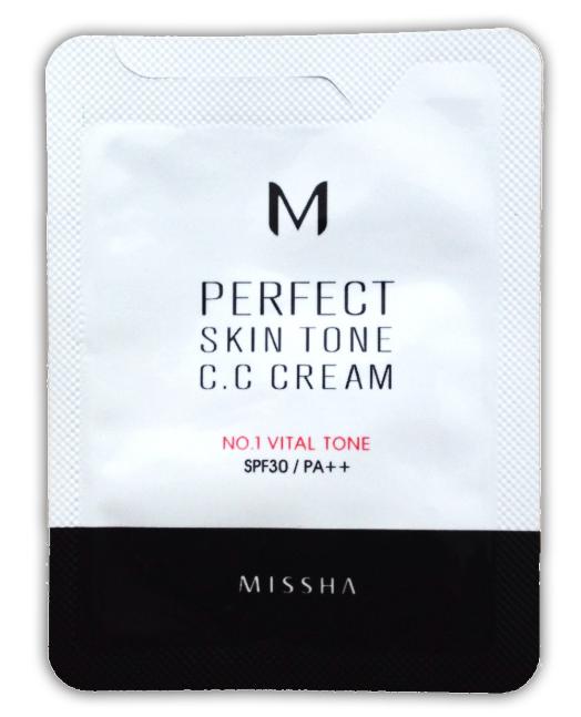 CC крем для лица Missha M Perfect Skin Tone CC Cream #1 Vital Tone