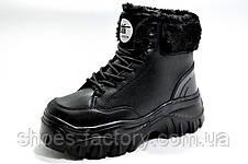 Зимние кроссовки на высокой платформе, на меху, фото 2