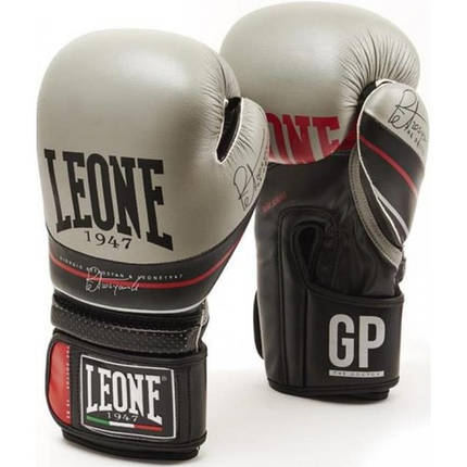 Боксерские перчатки Leone Doctor Black 10 ун., фото 2