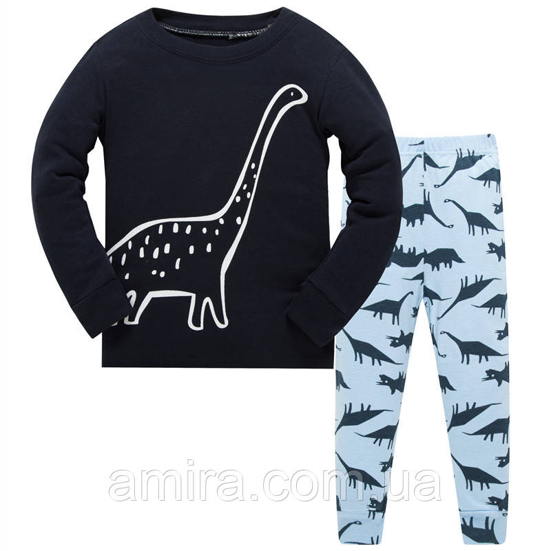 Пижама Пятнистый динозавр Baobaby