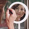 ☛Зеркало 3 в 1 с подсветкой Brise Fraiche Led косметическое для нанесения макияжа с вентилятором светодиодная, фото 3