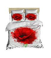 Постельное белье LIGHT HOUSE 200х220 ranforce 3D рисунок Poppy Flower