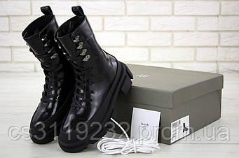 Женские ботинки Both демисезонные (черные)