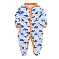 Человечек для мальчика Синие динозавры Berni