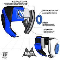 Боксерский шлем детский RDX Blue, фото 2