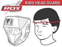 Боксерский шлем детский RDX Blue, фото 3