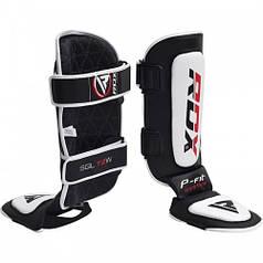 Накладки на ноги, захист гомілки RDX Leather S