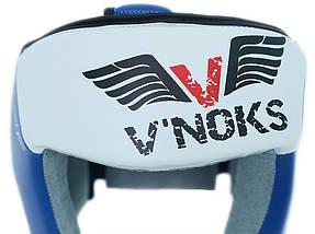 Боксерский шлем V`Noks Lotta Blue L, фото 3
