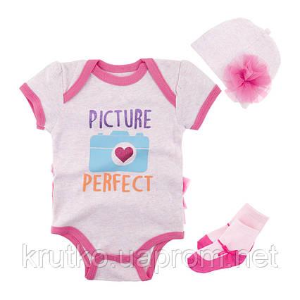 Комплект для девочки 3 в 1 Идеальная картина Berni, фото 2